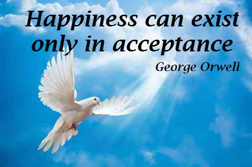 being happy through acceptance