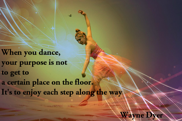 happiness quotes dance