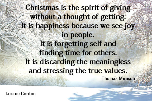 cChristmas happiness quote